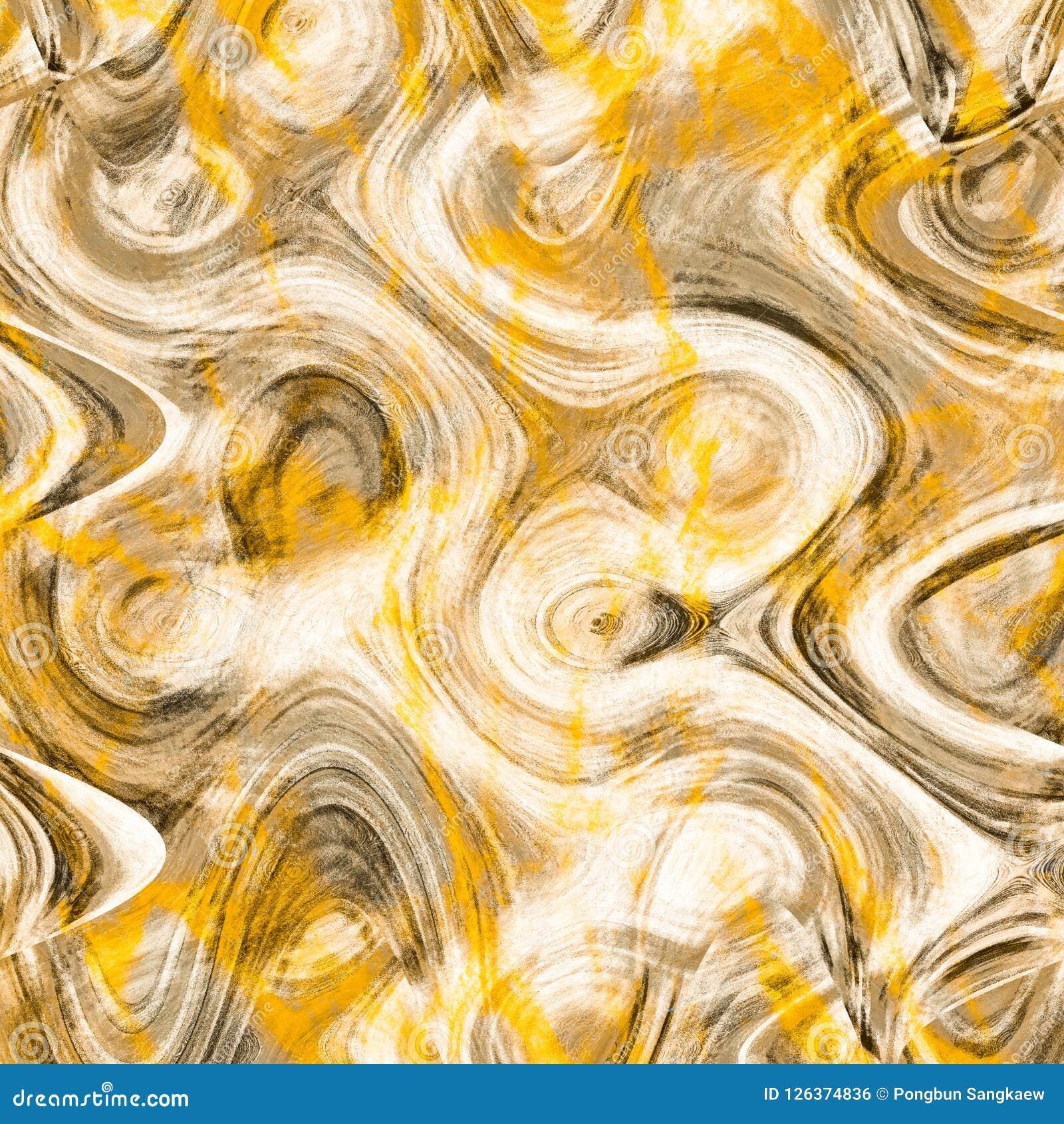 Grunge Gray And Gold Abstract Wallpaper Modern Art