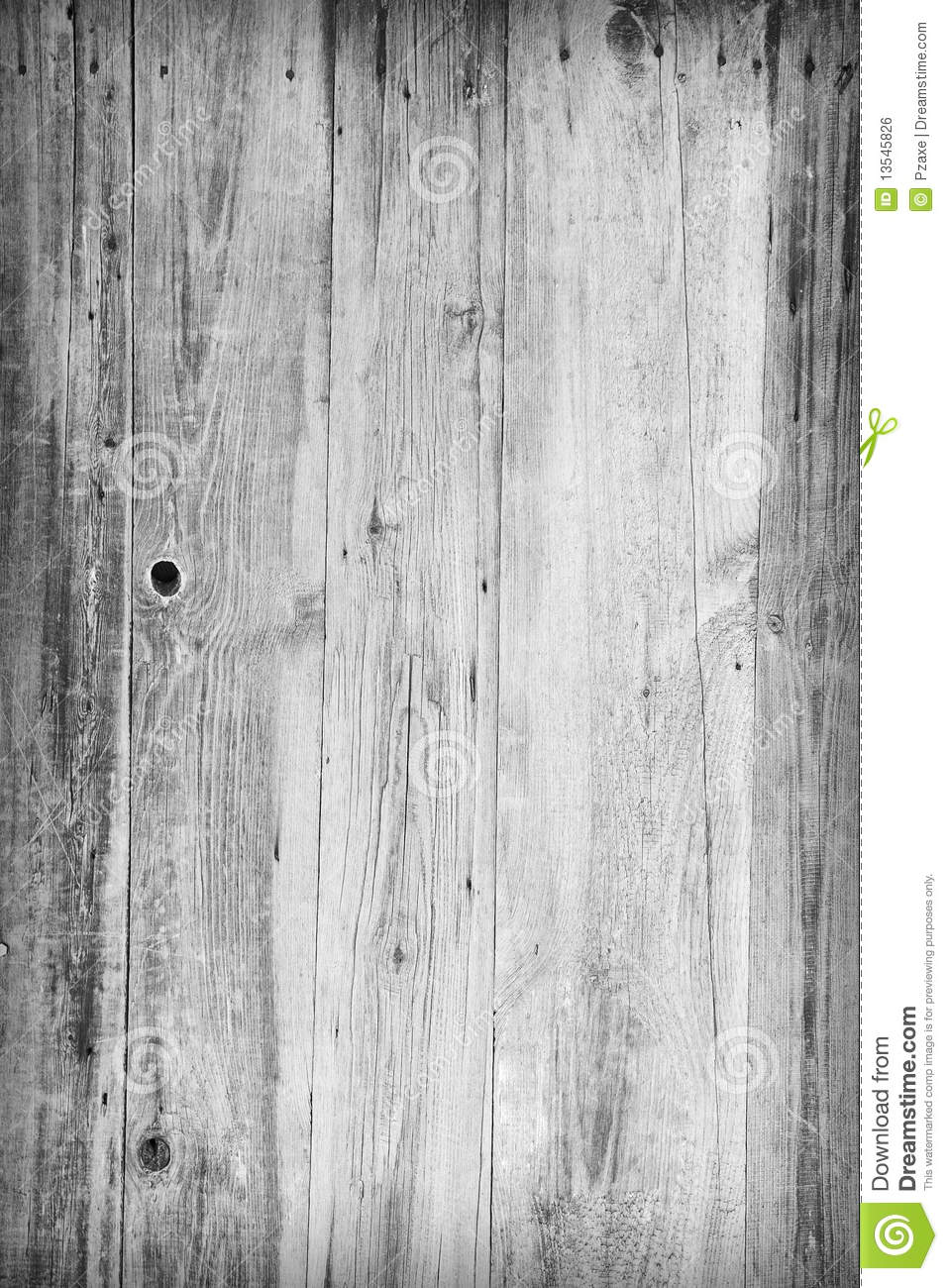 Grunge Gray Wooden Boards Background Stock Photo Image