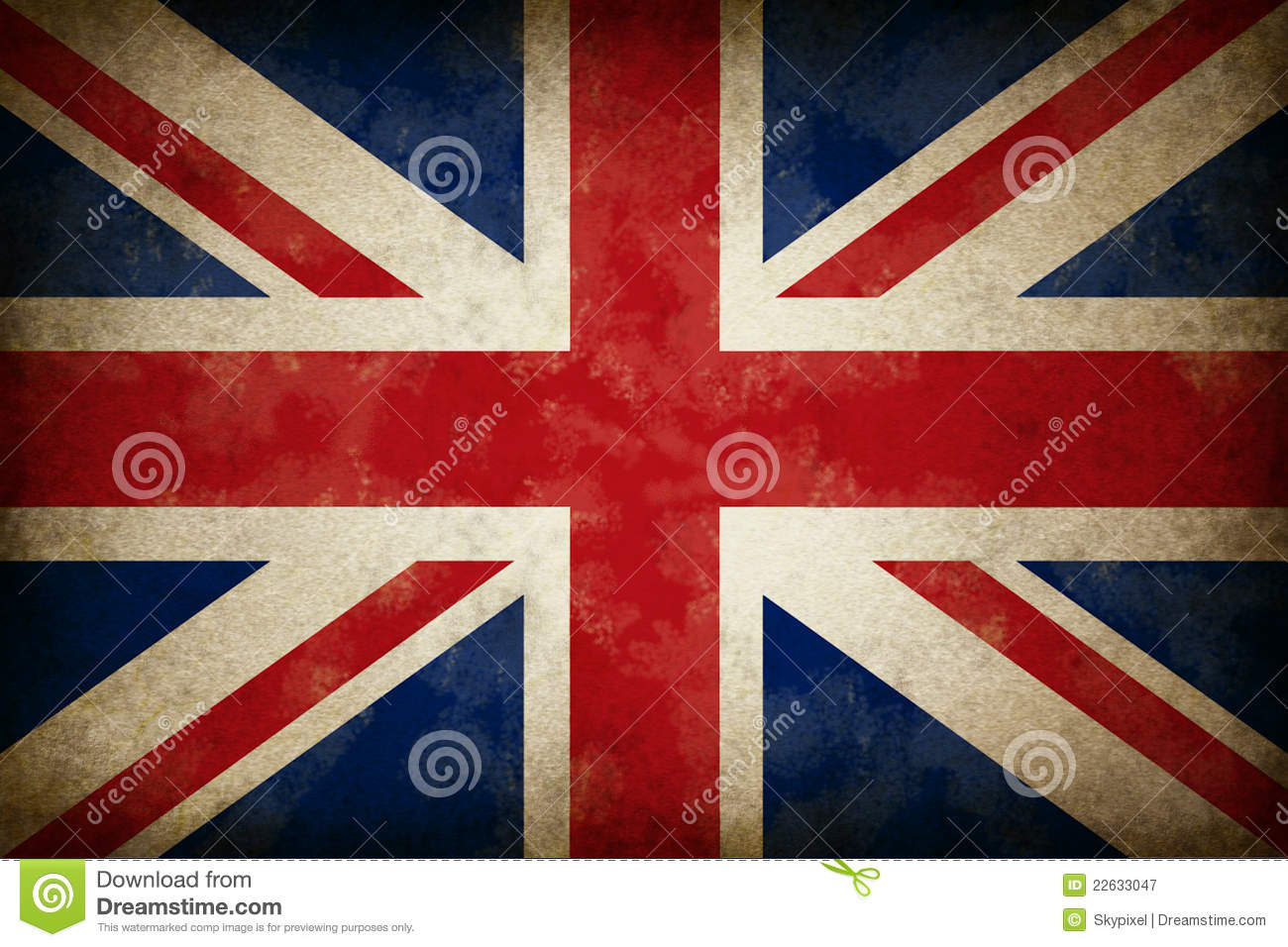 grunge great britain flag royalty free stock photography image