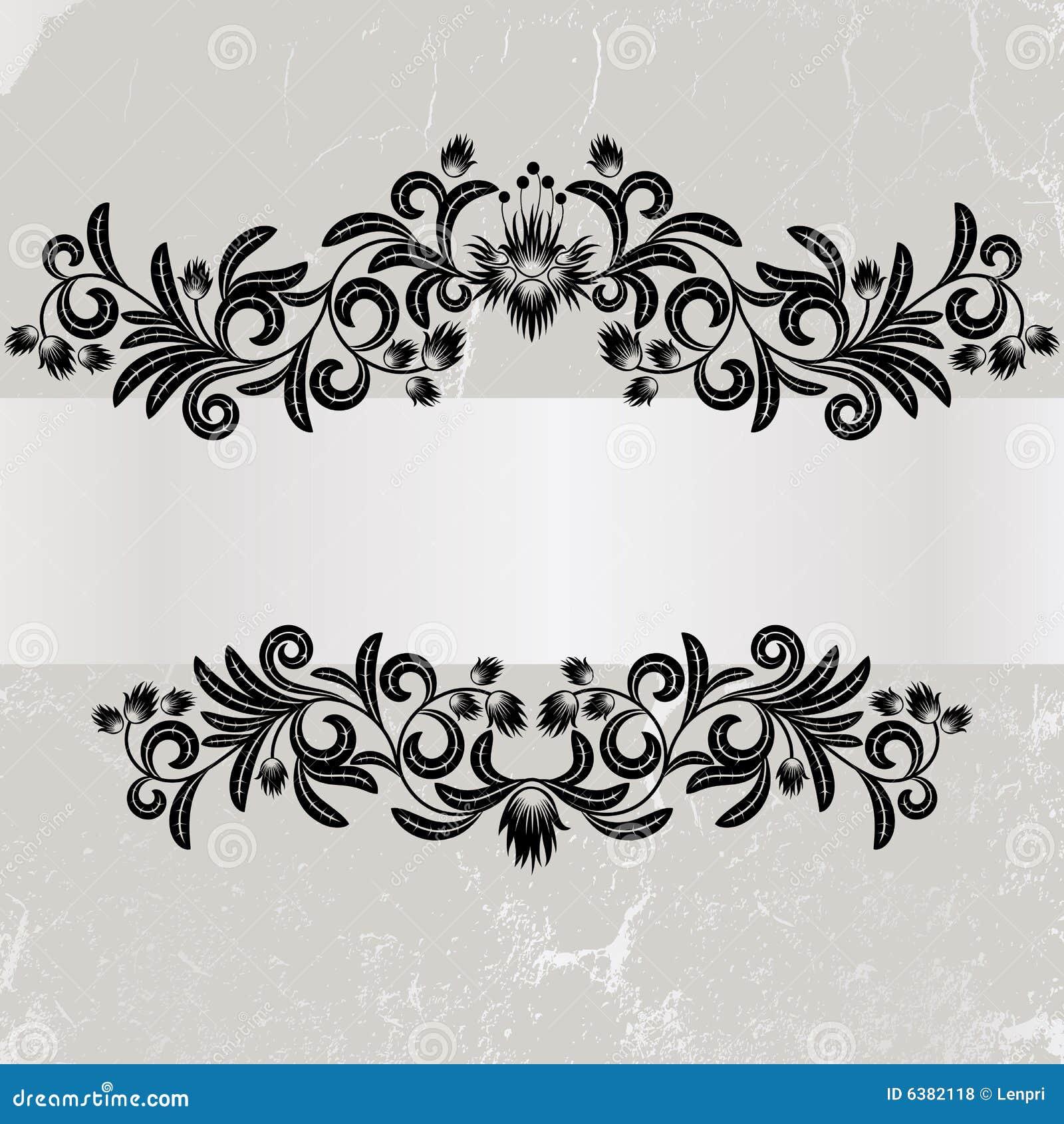 Grunge grey wieloletnie ramy