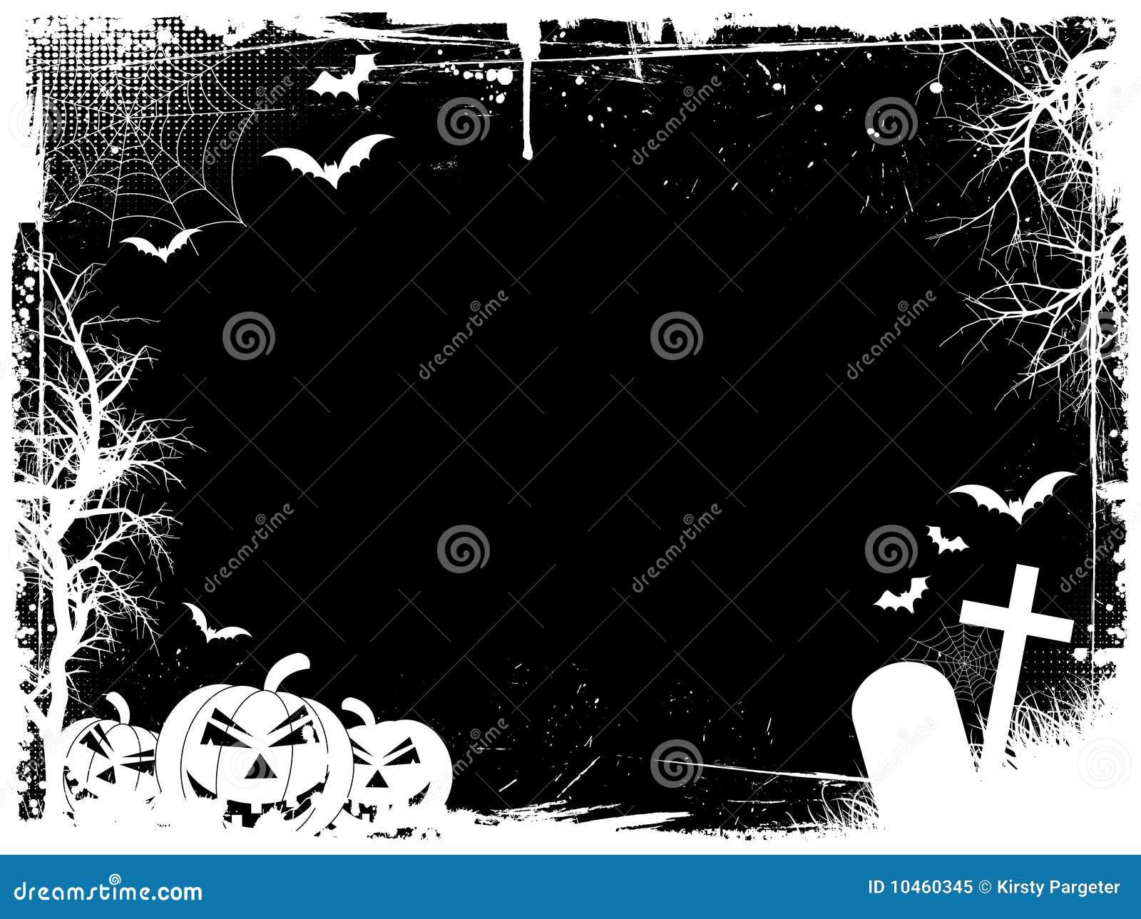 Grunge Halloween Rand