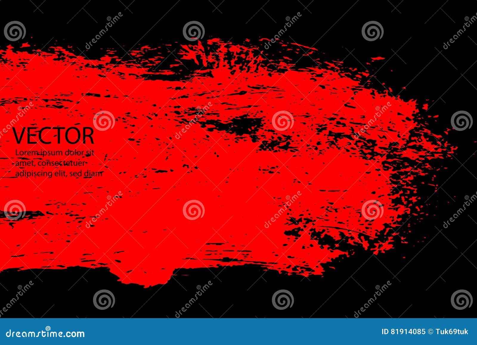 Grunge Halloweenowy tło z krwionośnymi splats