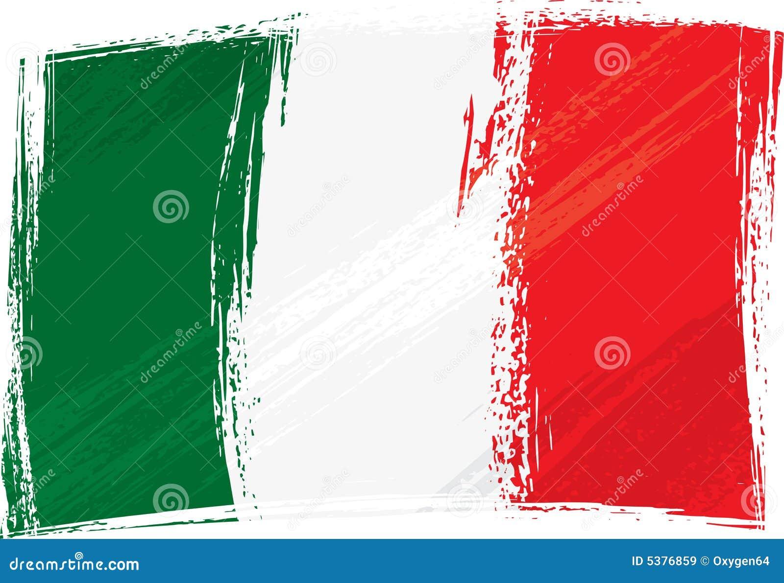 italian flag vector free download