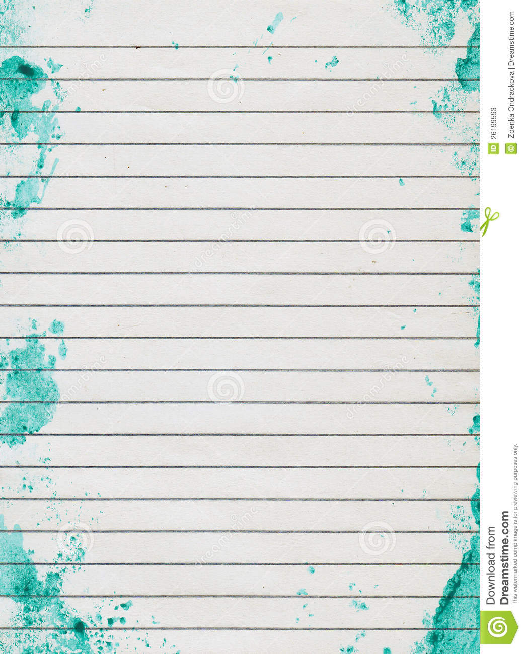 Wallpaper Lined Paper: Grunge Lined Paper Stock Image. Image Of Grunge