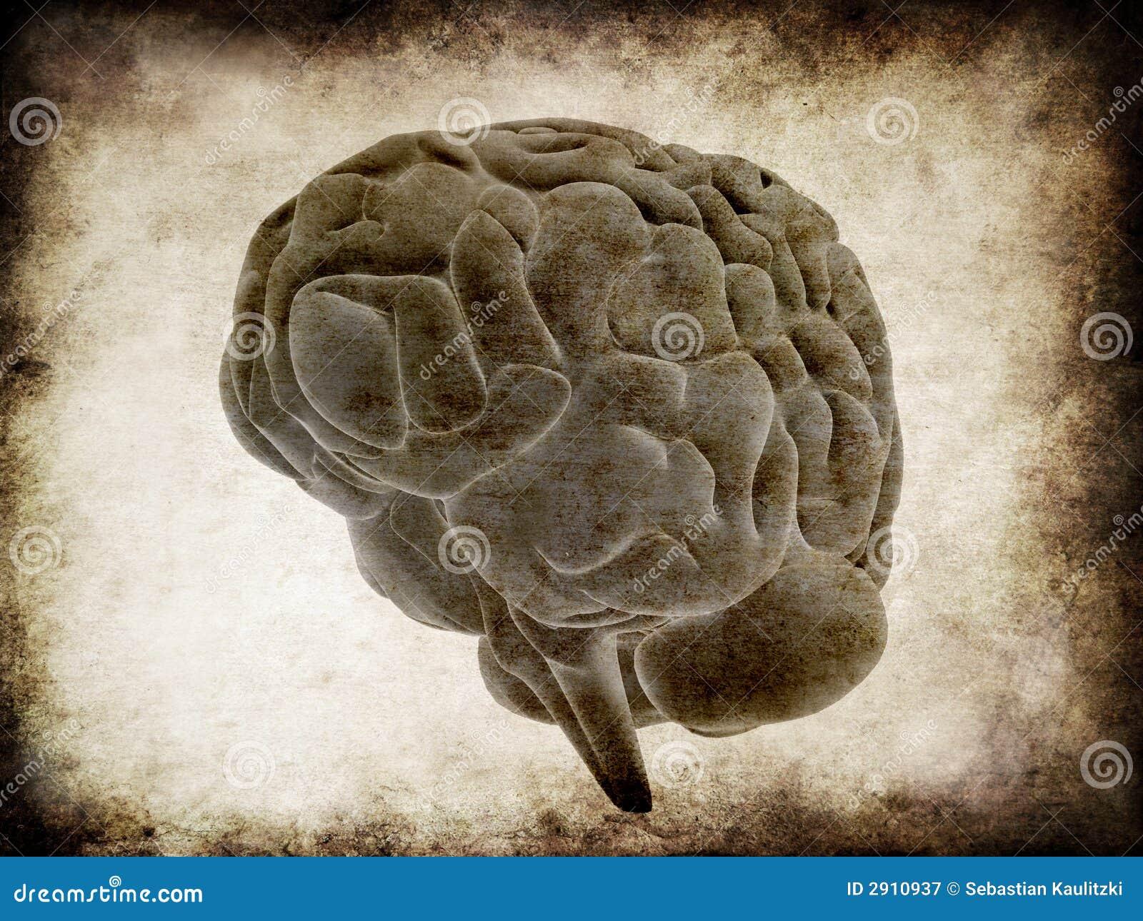 Grunge mózgu
