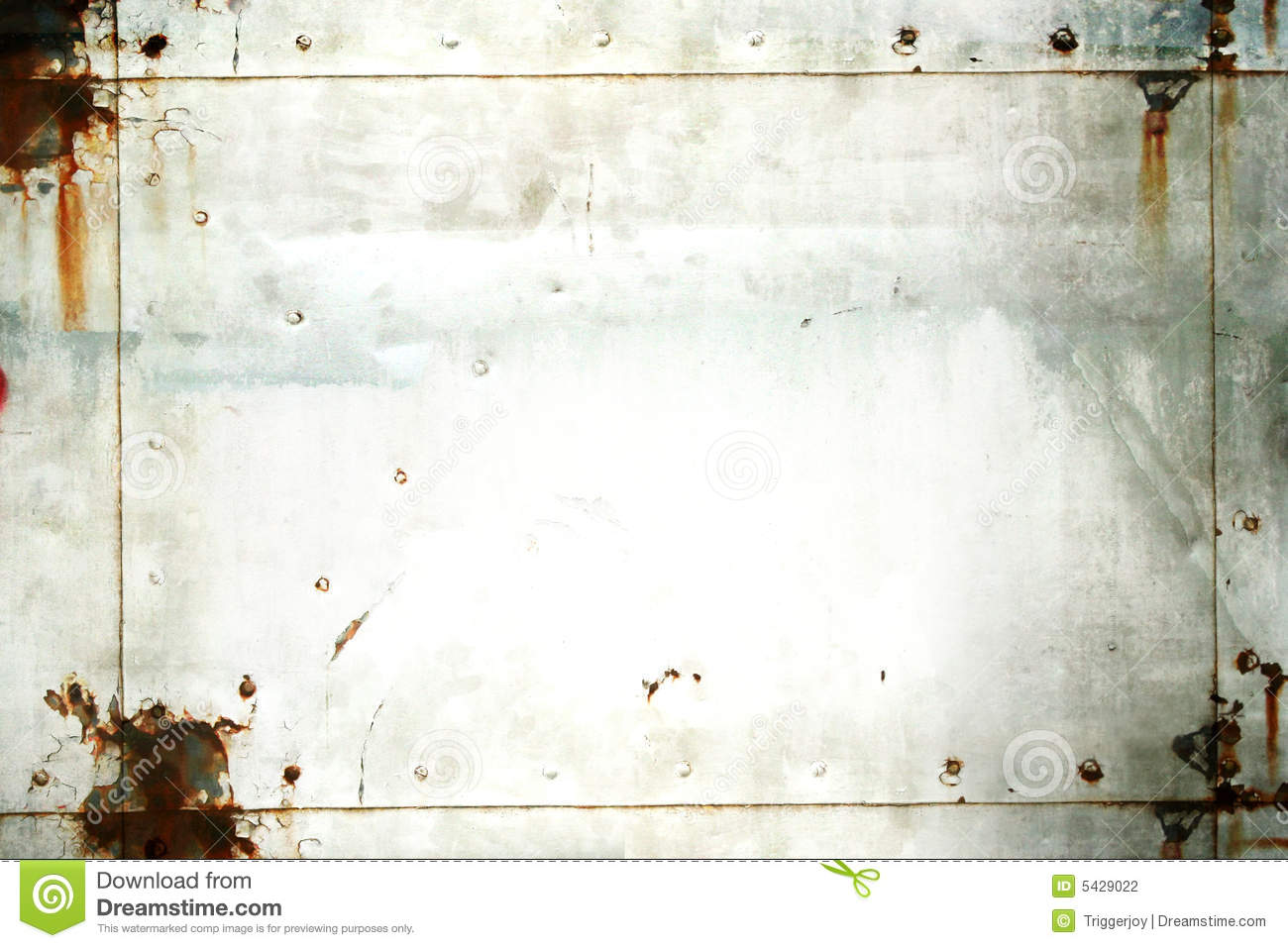 grunge metal frame stock photography