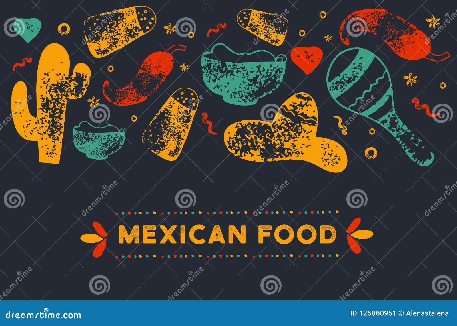 mexican restaurant menu template