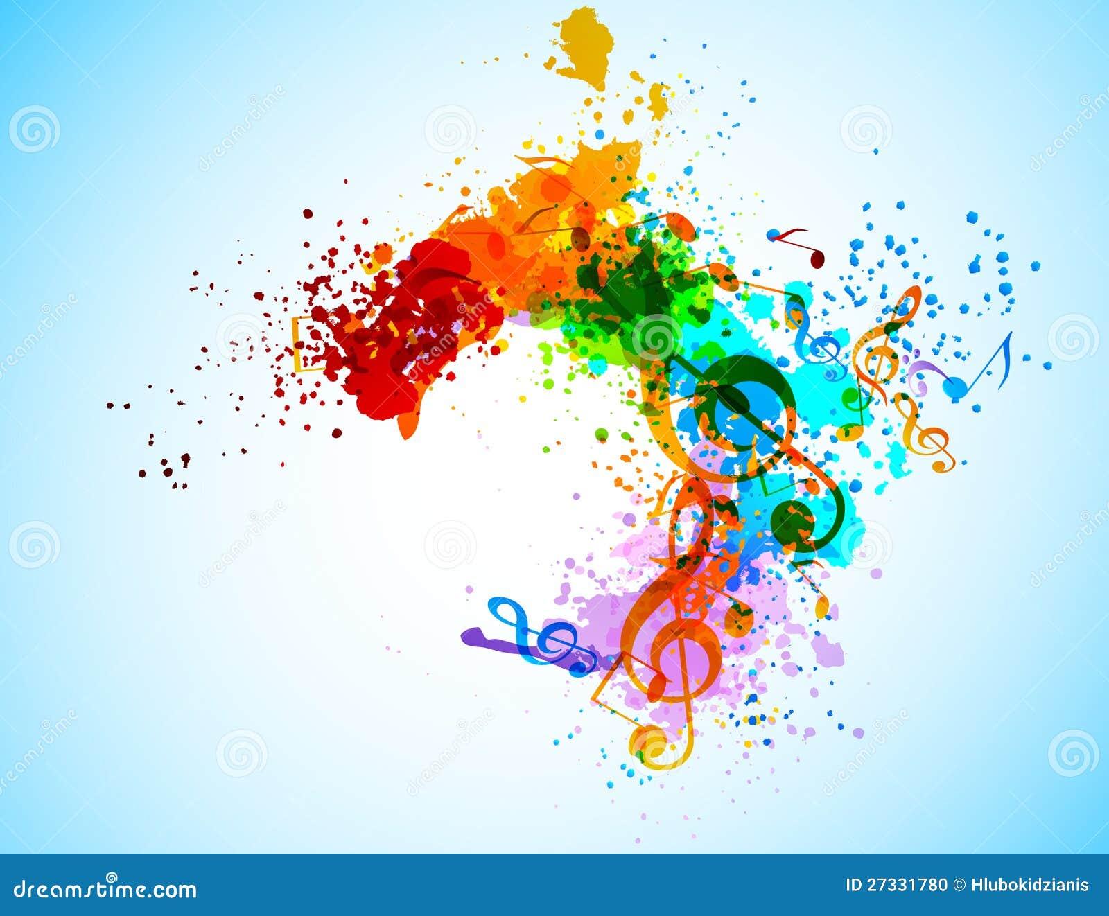 Download Grunge music background stock vector. Illustration of line - 27331780