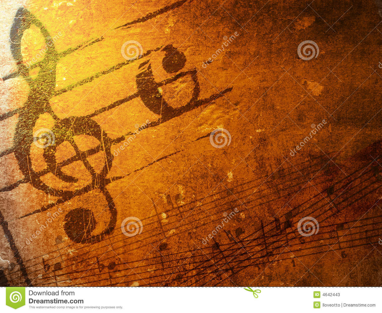 grunge music textures and backgrounds stock illustration