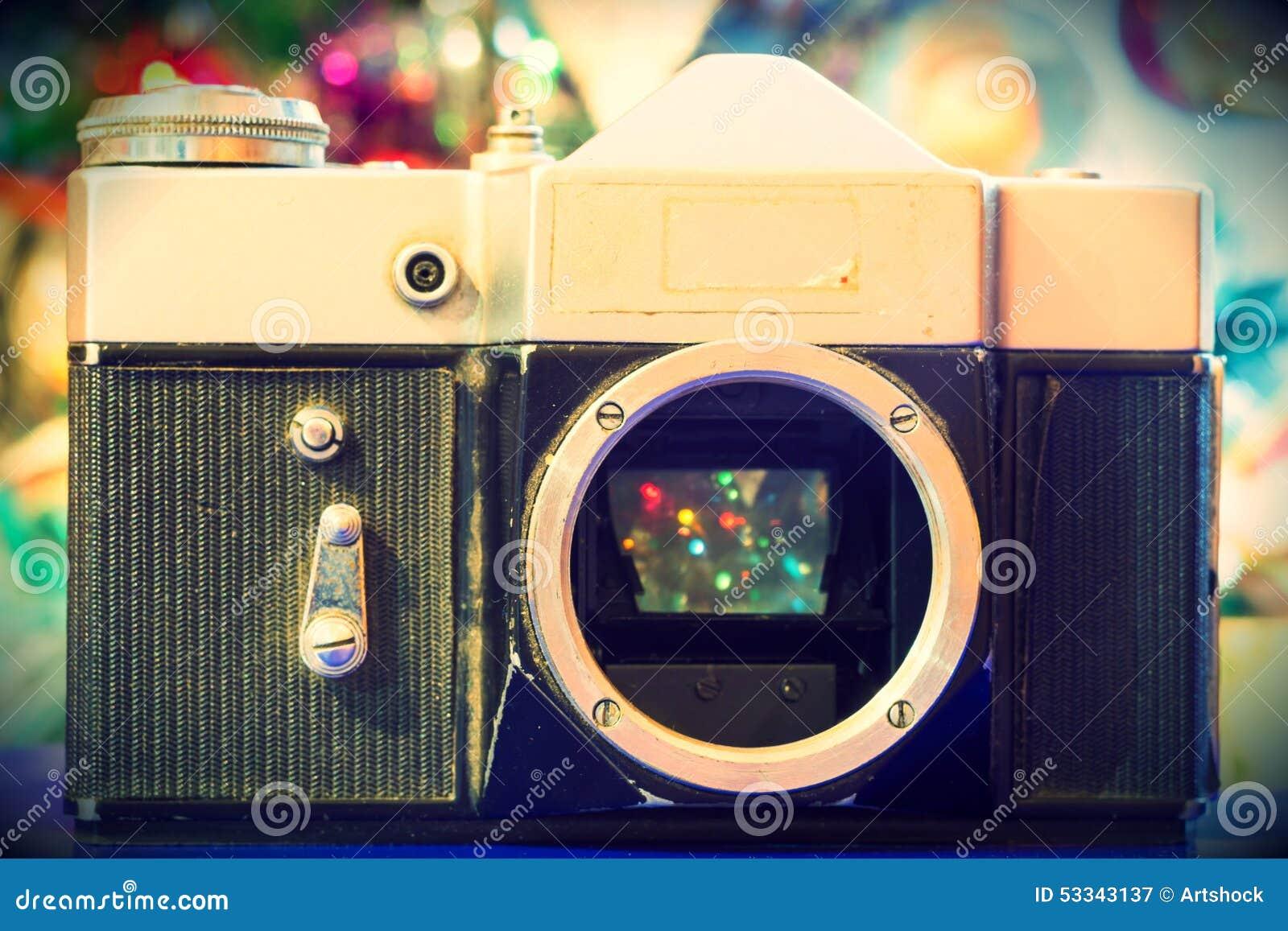 Grunge Camera Effect : Grunge old camera stock illustration illustration of vintage