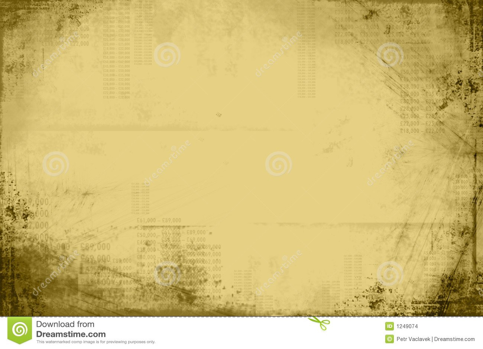 Grunge Olive Background Stock Illustration Illustration Of Frame 1249074