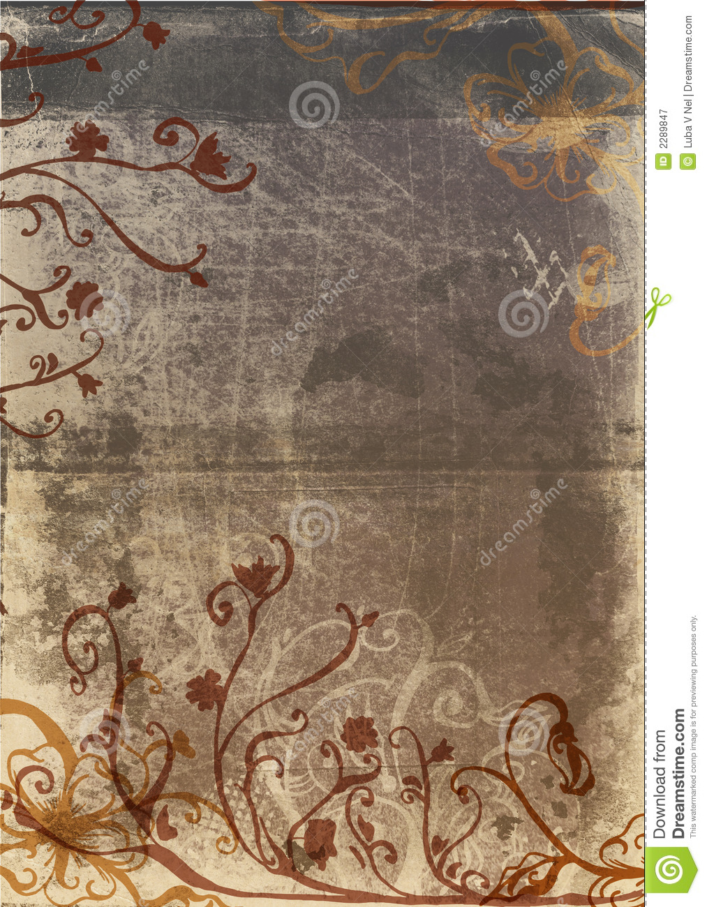 grunge page with rustic design royalty free stock