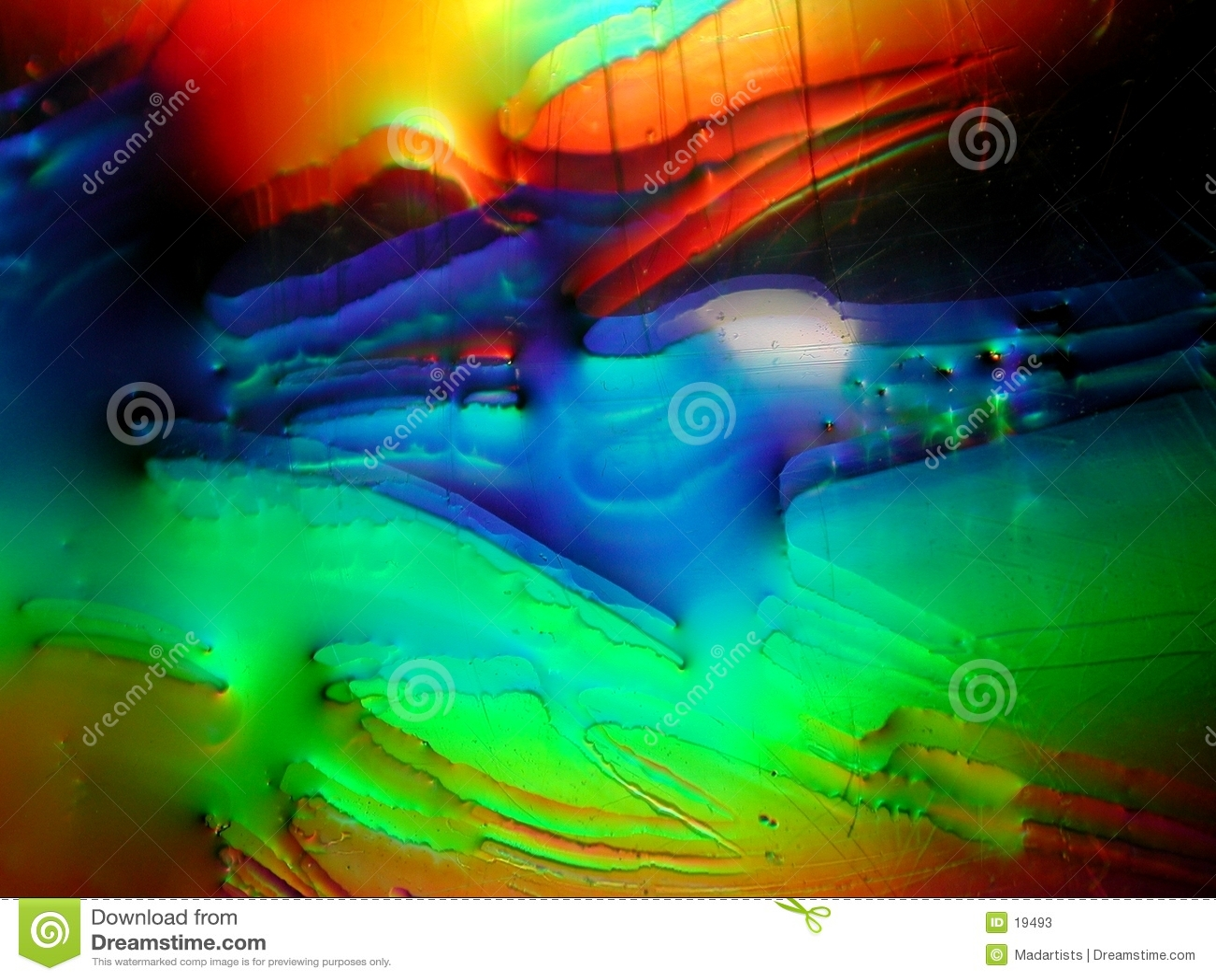Grunge Paint Liquid Texture