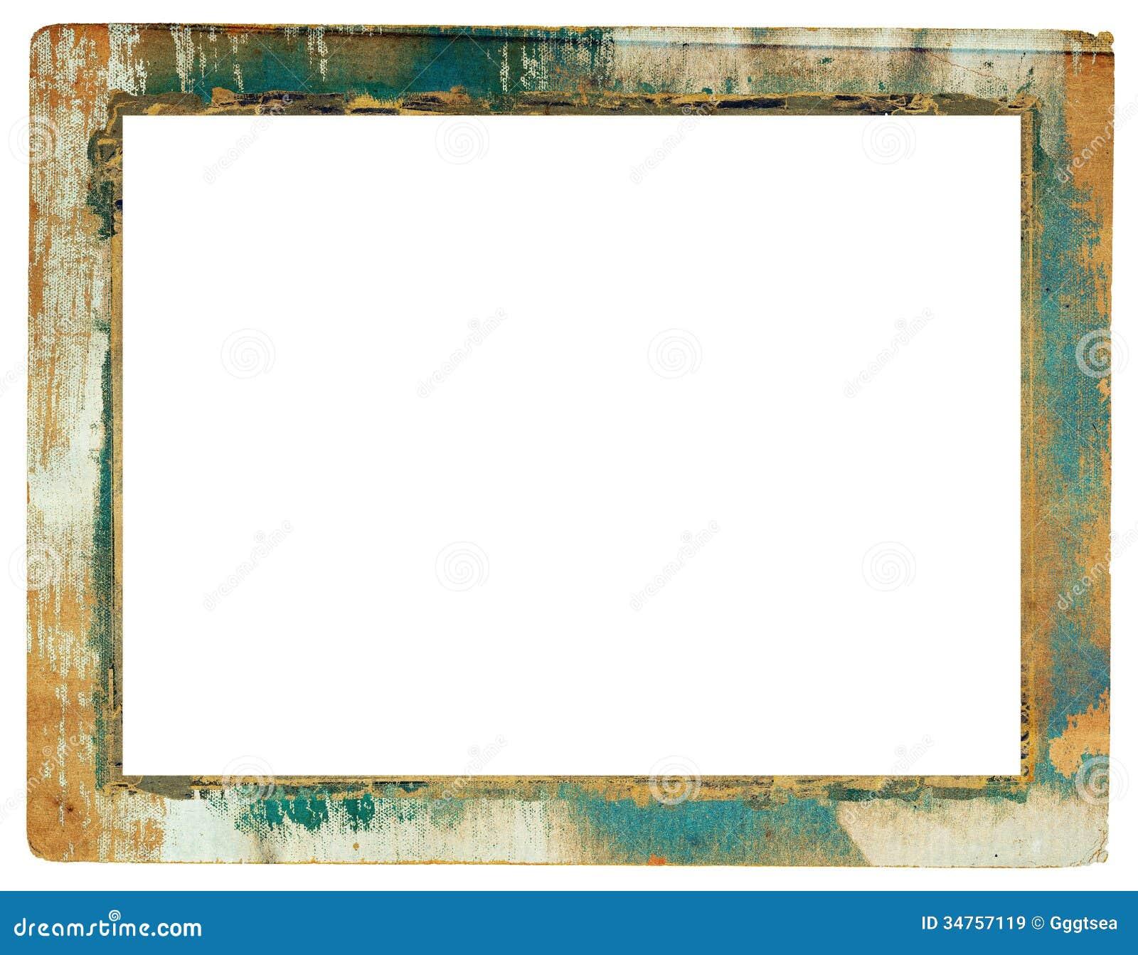 grunge paper frame