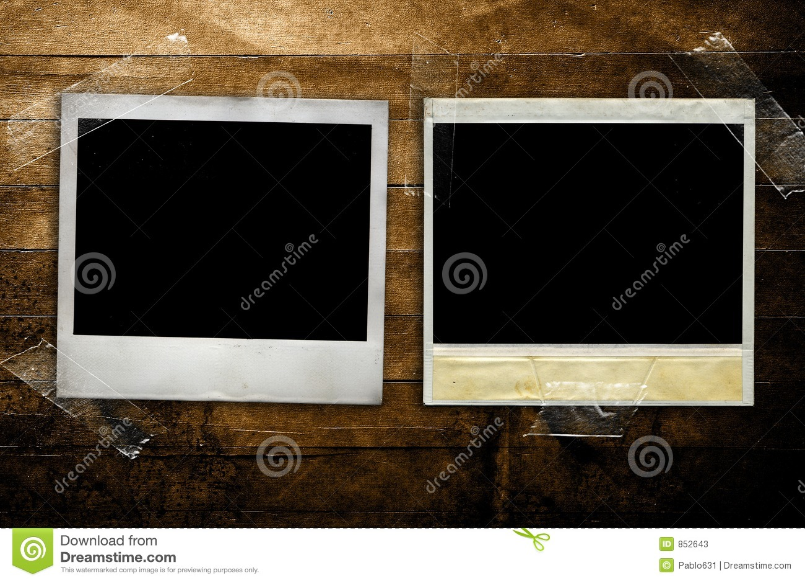 Grunge polaroids