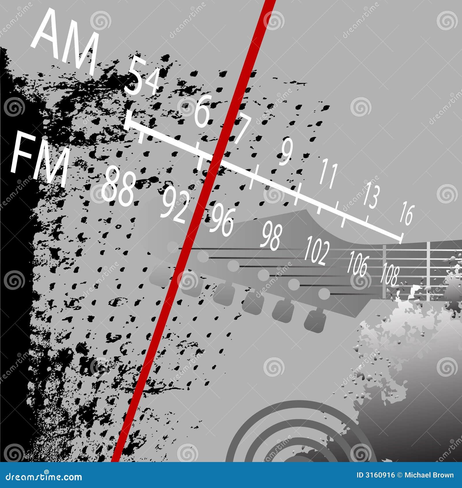 Grunge radio fm światła