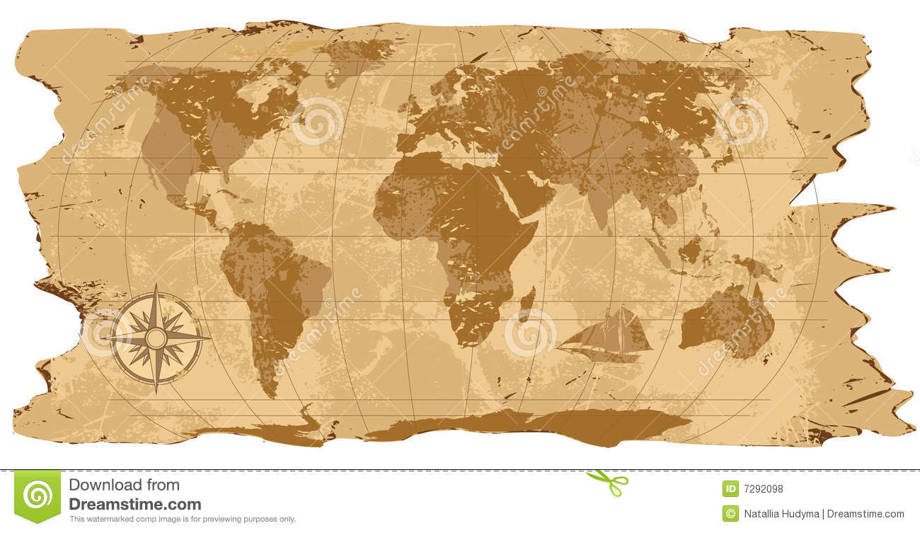 A grunge rustic world map stock vector illustration of backgrounds grunge rustic world map royalty free stock photos gumiabroncs Choice Image