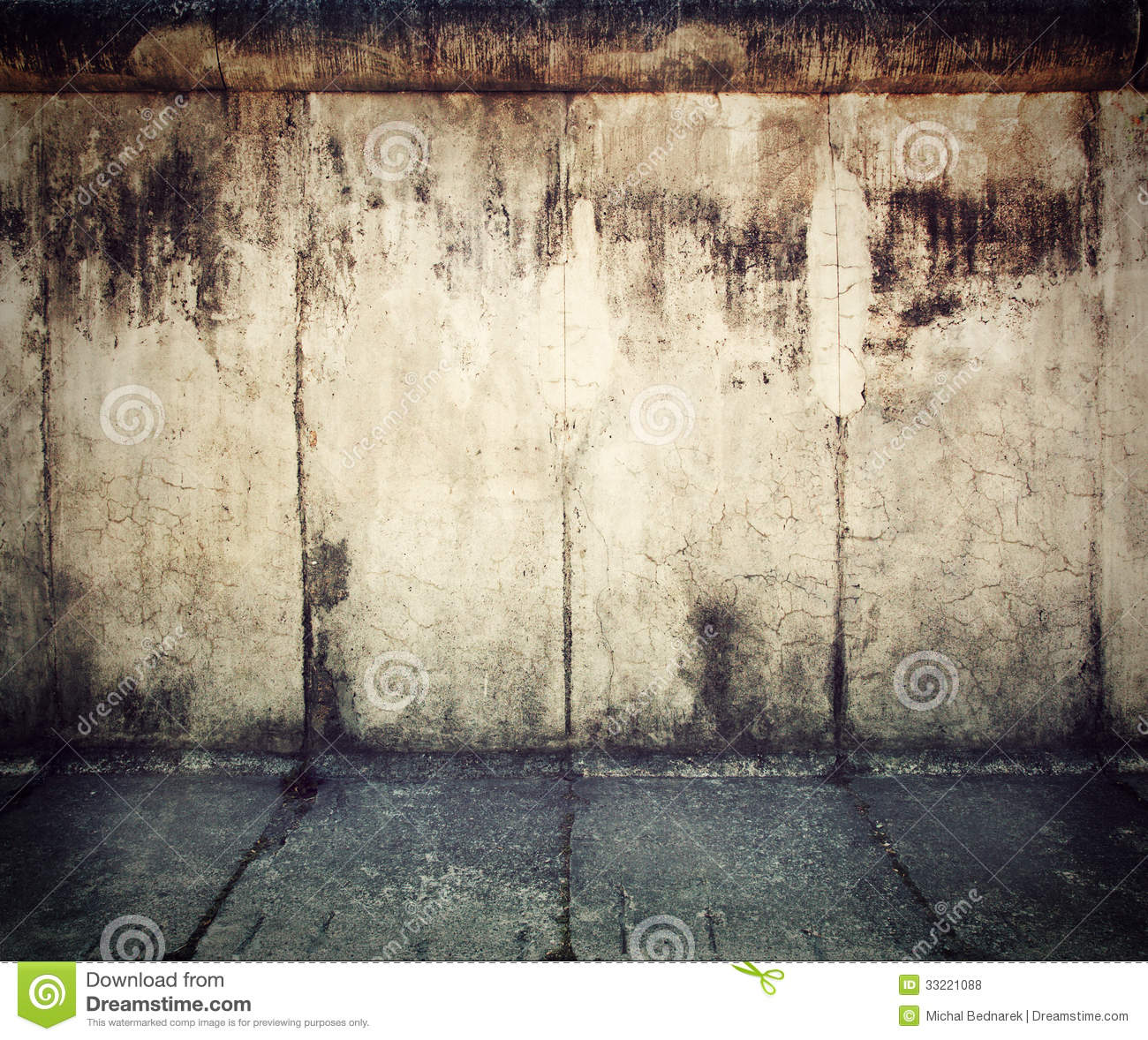 Grunge Rusty Concrete Wall Background Stock Photo Image