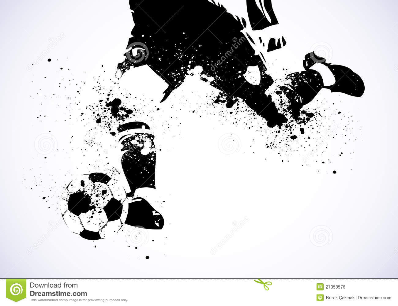 Abstract Grungy Background Volleyball Arrowhead Stock: Grunge Soccer Is Going To Shoot Royalty Free Stock Image