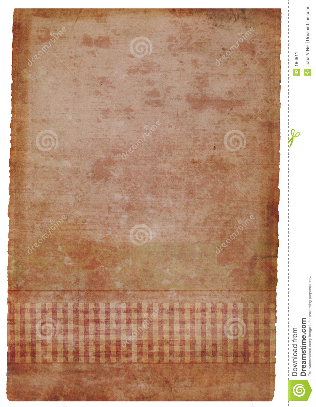 grunge stained hand-made piece of paper in pink