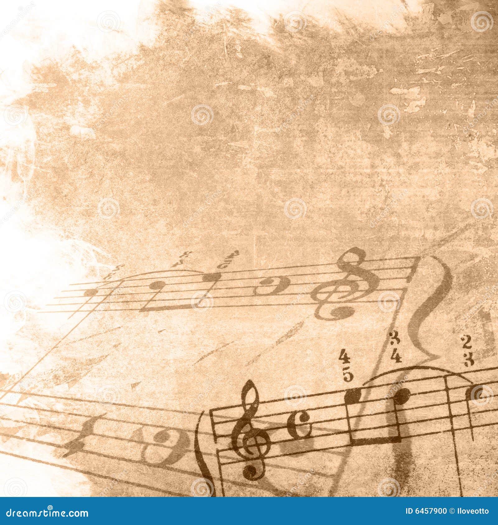 Grunge tła melodii tekstury