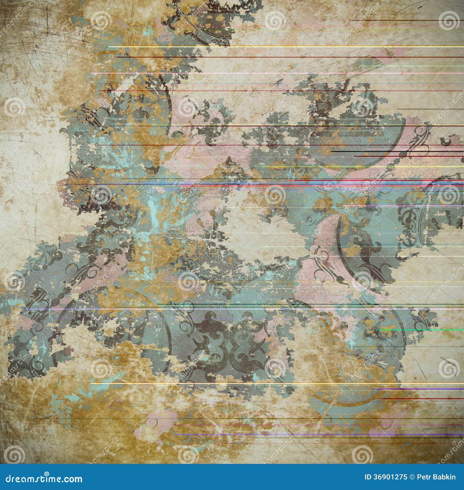 Grunge tło. Abstrakcjonistyczna tekstura.