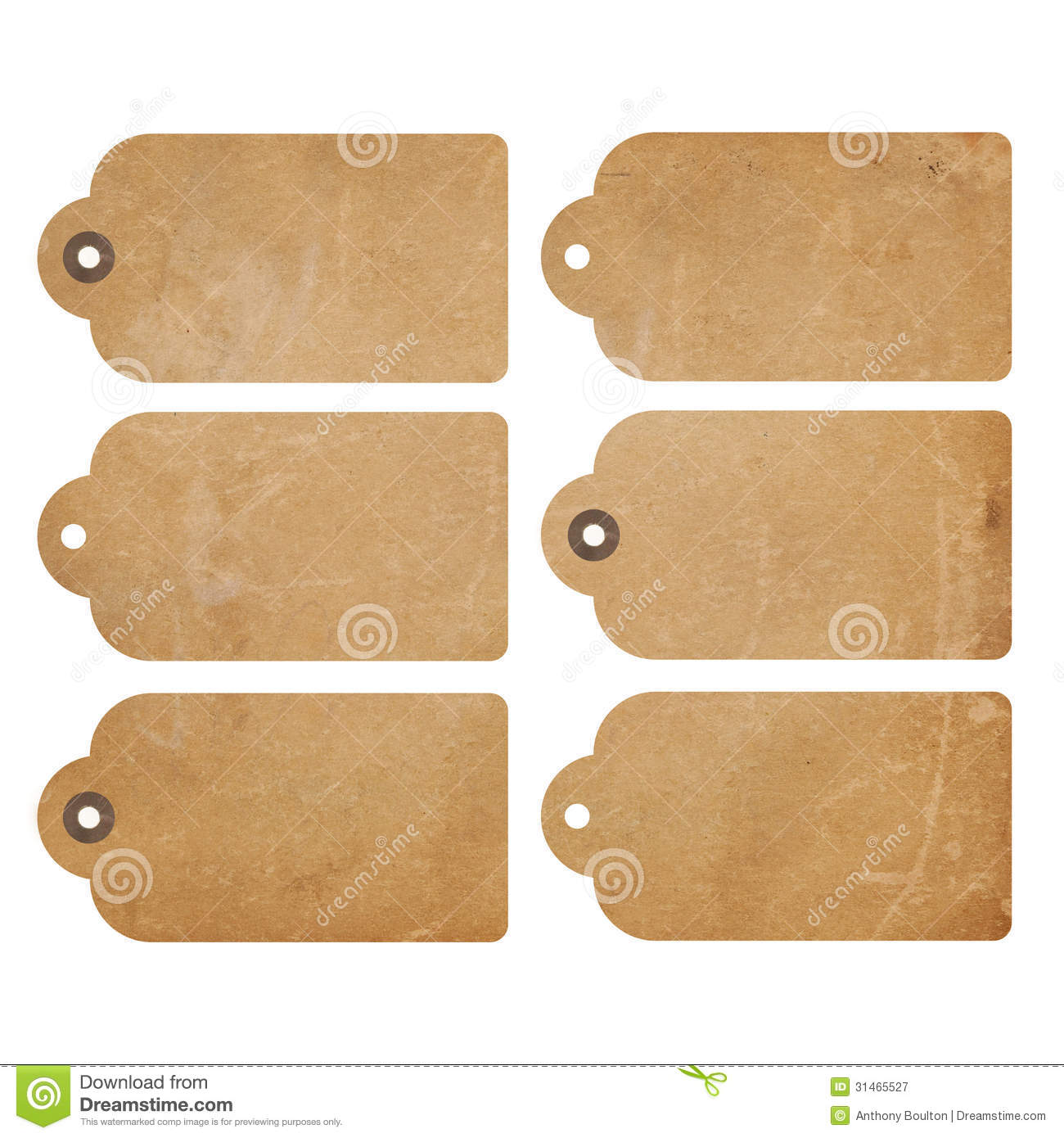Grunge tags stock image. Image of paper, retro, brown ...