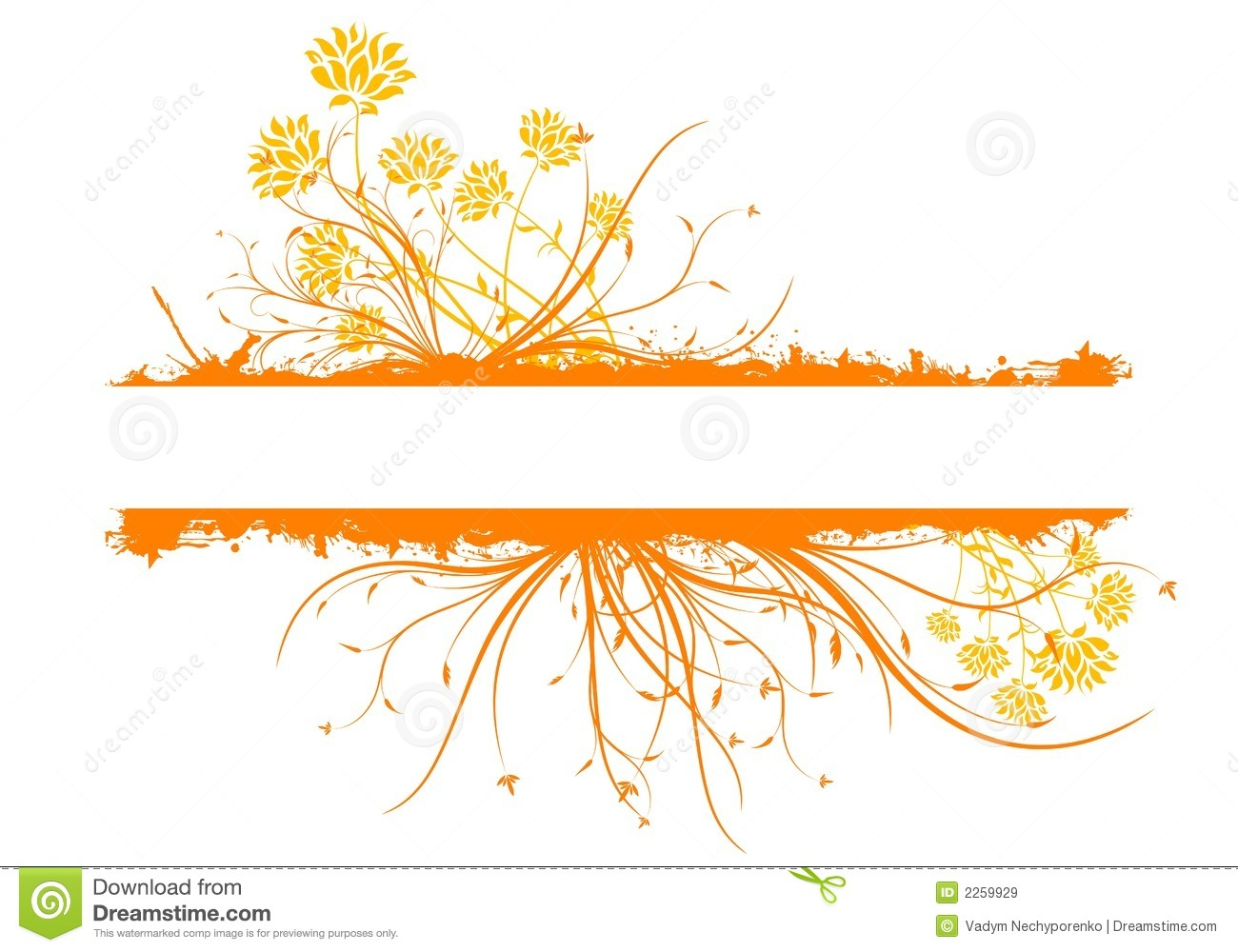 Decoration Image Of Grunge Text Decoration Stock Vector Image Of Branches 2259929
