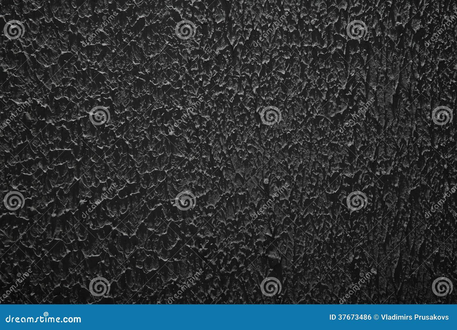 grunge texture, rough ragged dark background, black plaster stucco wall