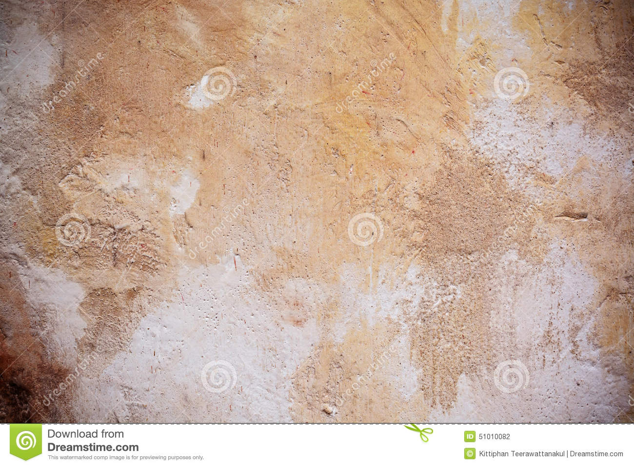 Grunge textures and background with vignette