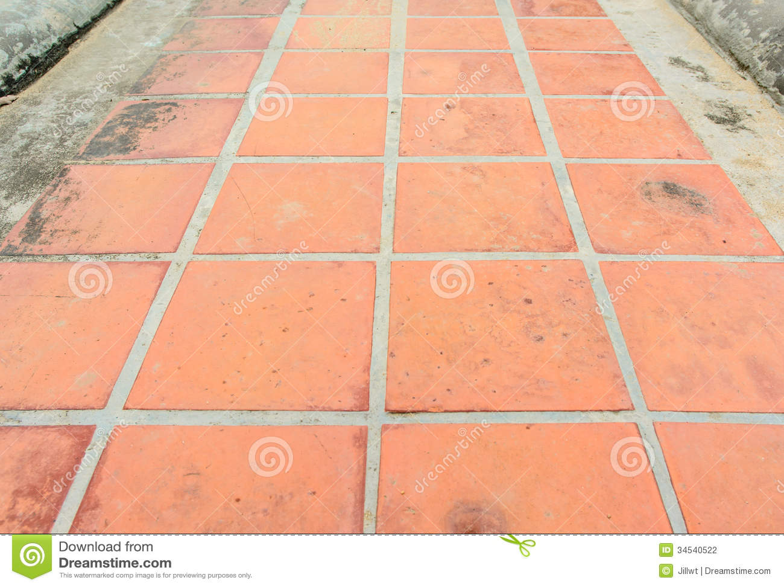 Grunge tile block stock photography image 34540522 for Concrete block floor