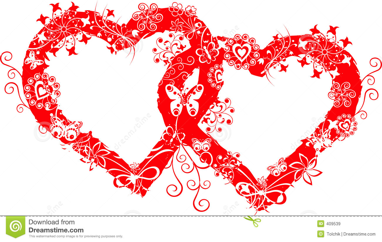 Grunge Valentine Frame, Heart, Vector Stock Vector - Illustration of ...