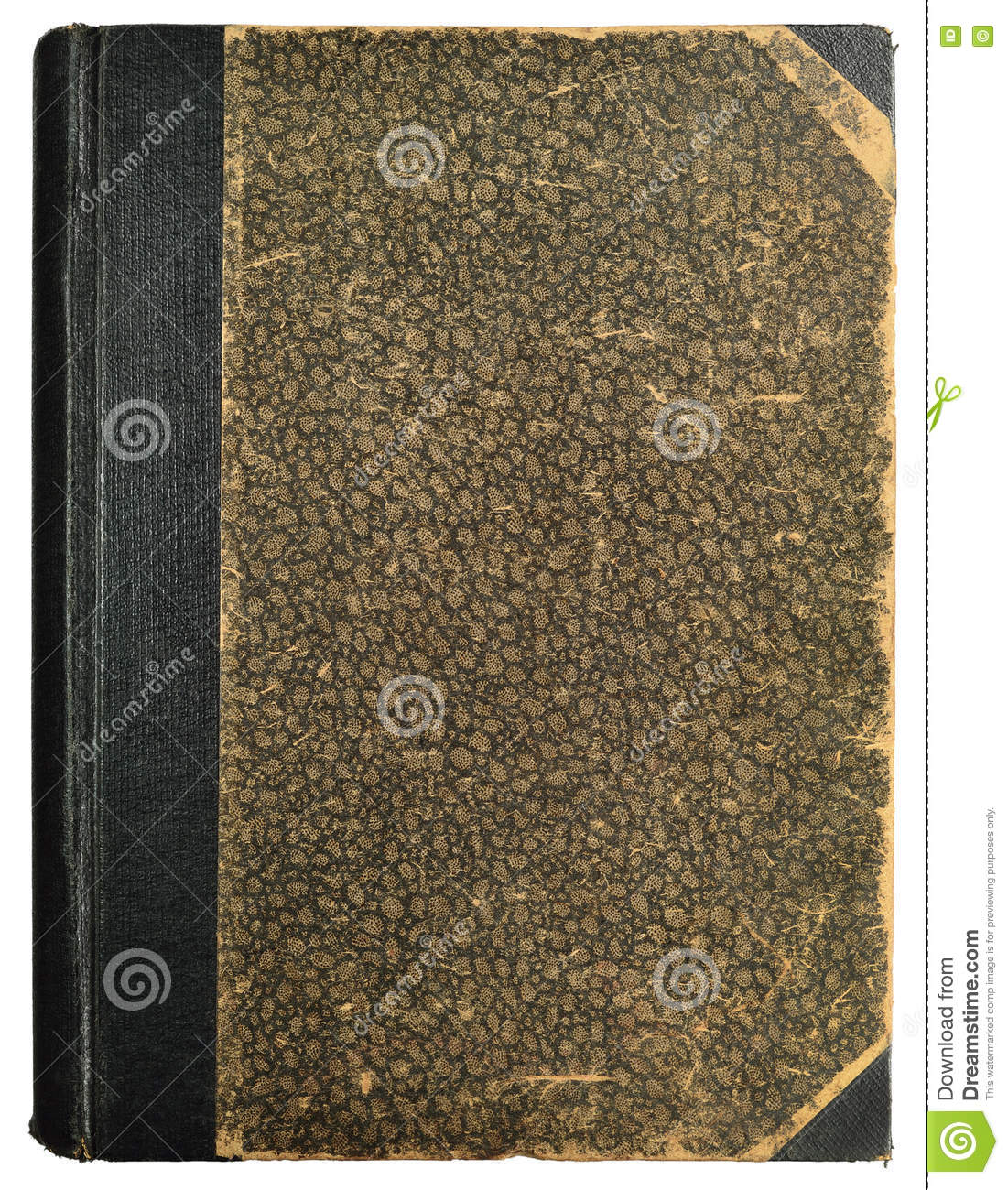 Grunge Book Cover Texture : Grunge vintage book hard cover blank empty antique