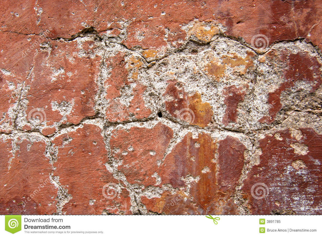 Grunge Wall With Peeling Paint Royalty Free Stock Photo Image 3891785