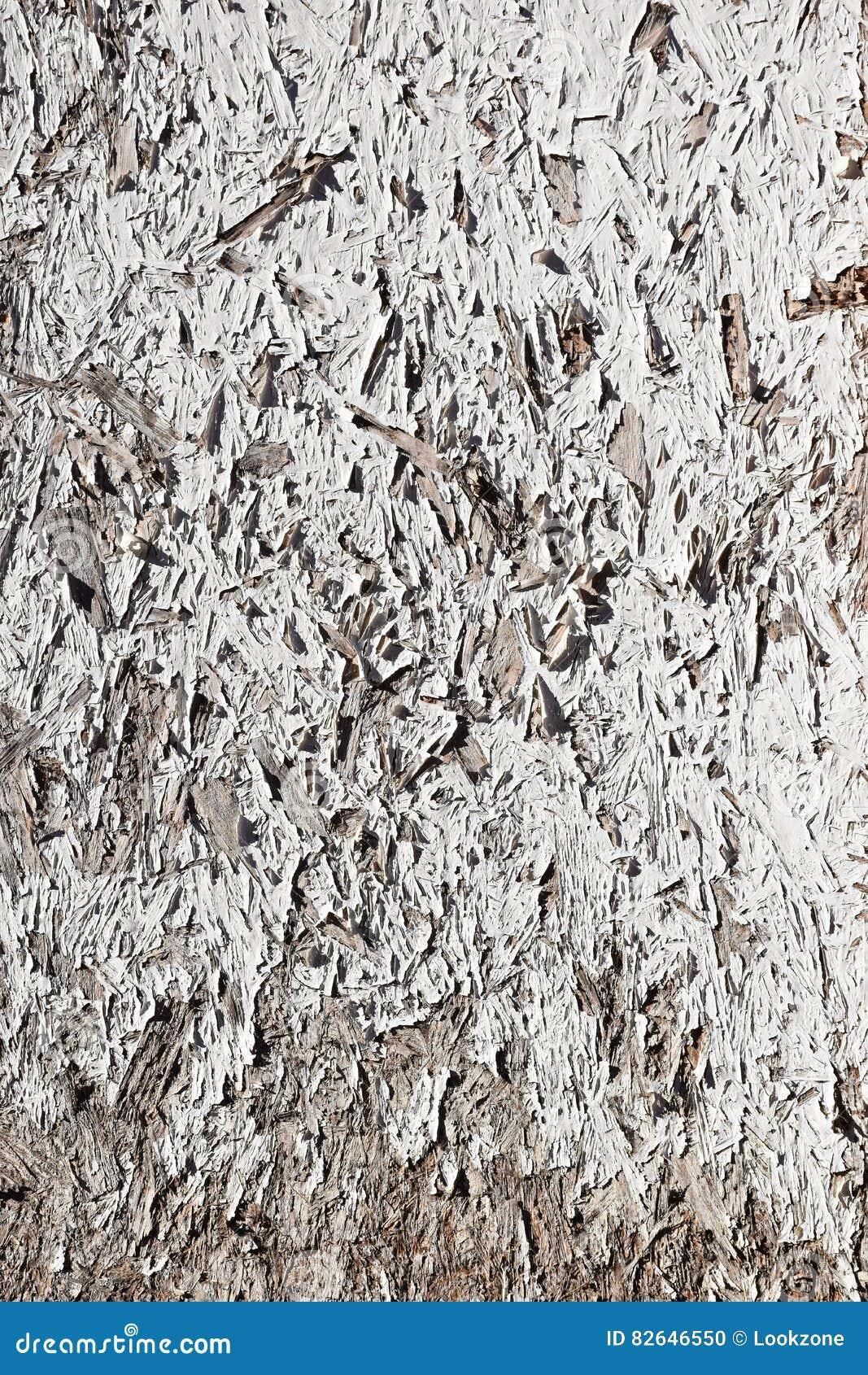 Grunge White Painted Chipboard