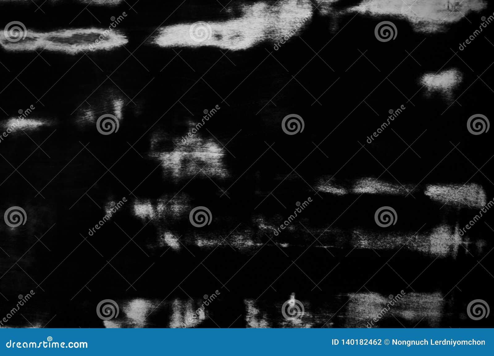 Grunge zmrok popielaty lub czarny z białym kolor tekstury blackboard Brudnego pyłu panelu farby wzoru czarny i biały projekt z pr