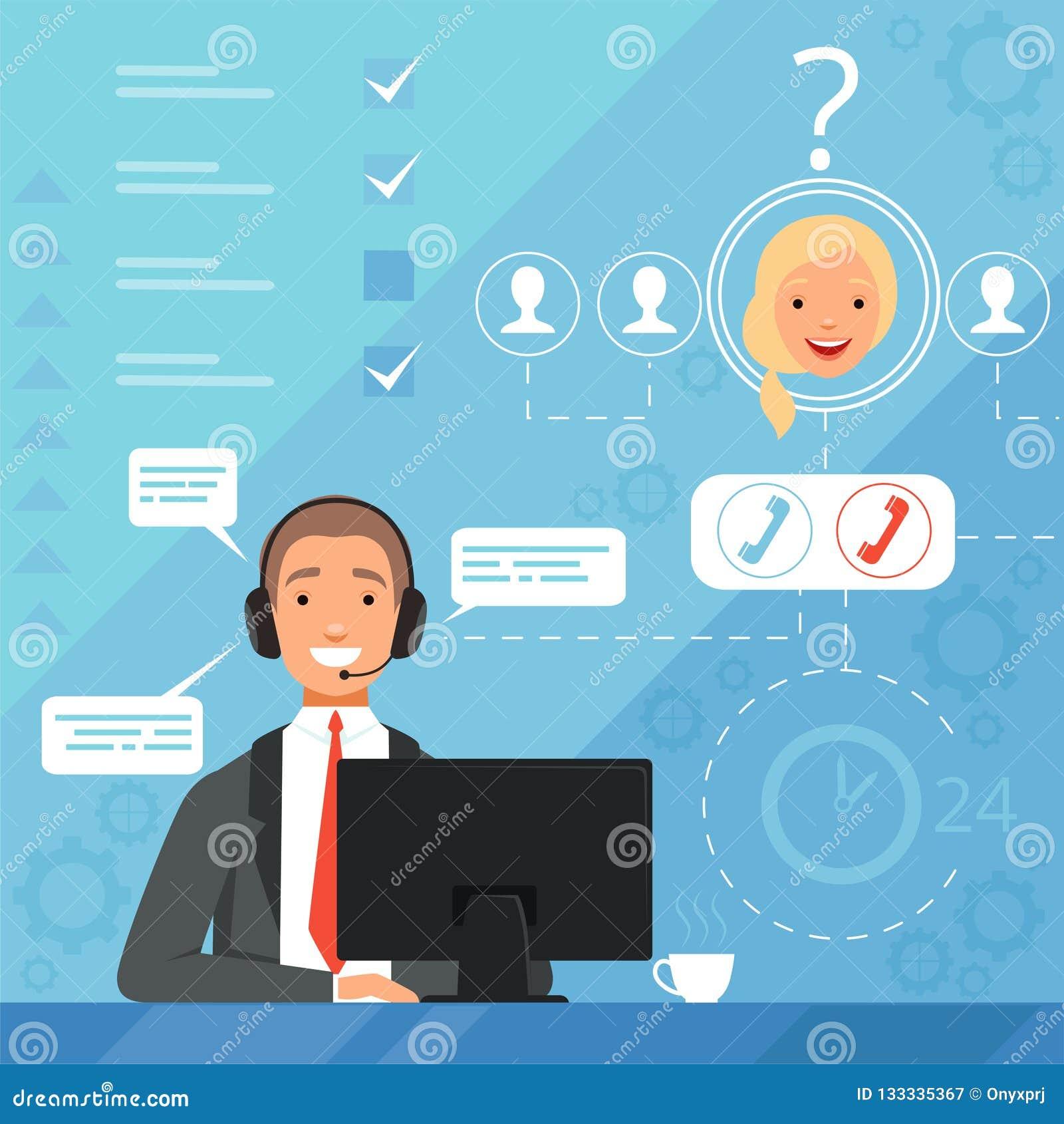Grungebakgrund för dina publikationer för servicechefer för affär 24h online-illustration för bakgrund för vektor för klagomål fö
