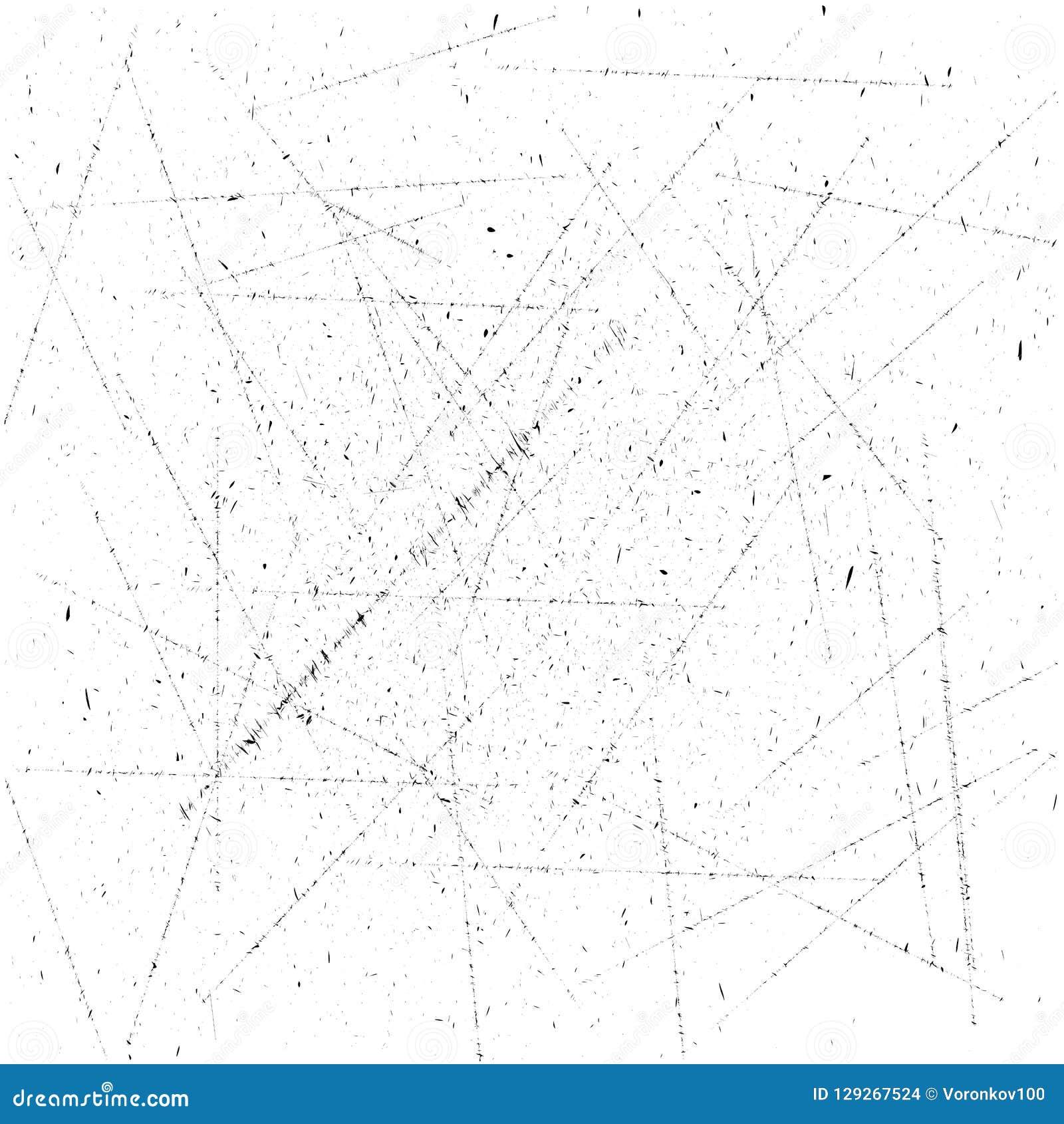 Grungetextuur met bekledingsvermogen Kleine deeltjes Stof vectorillustratie
