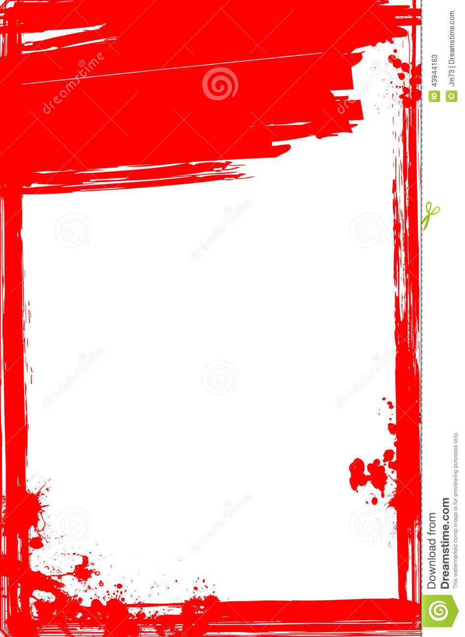 bloody frame royaltyfree stock image cartoondealercom