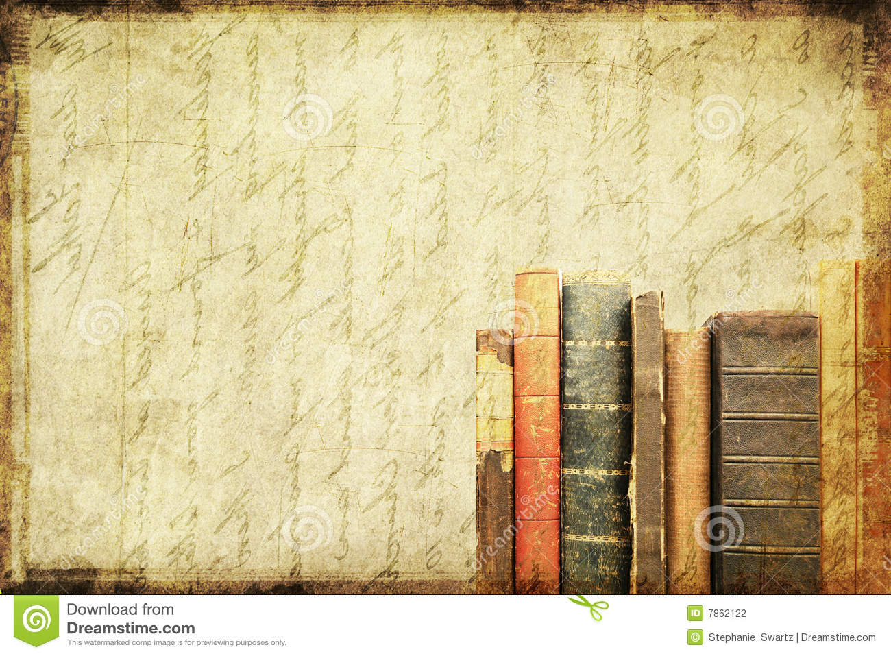Book Cover Background Url : Grungy book background stock illustration of