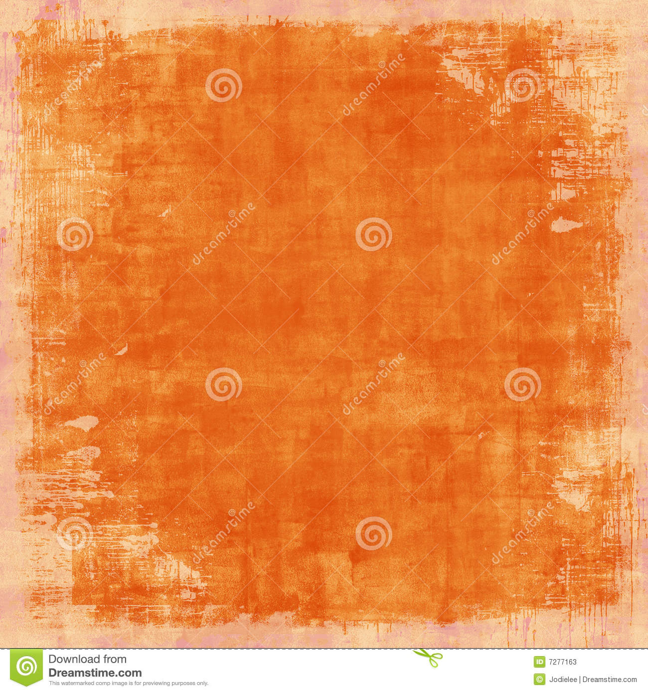 Grungy Distressed Orange Vintage Background Stock Photos ...