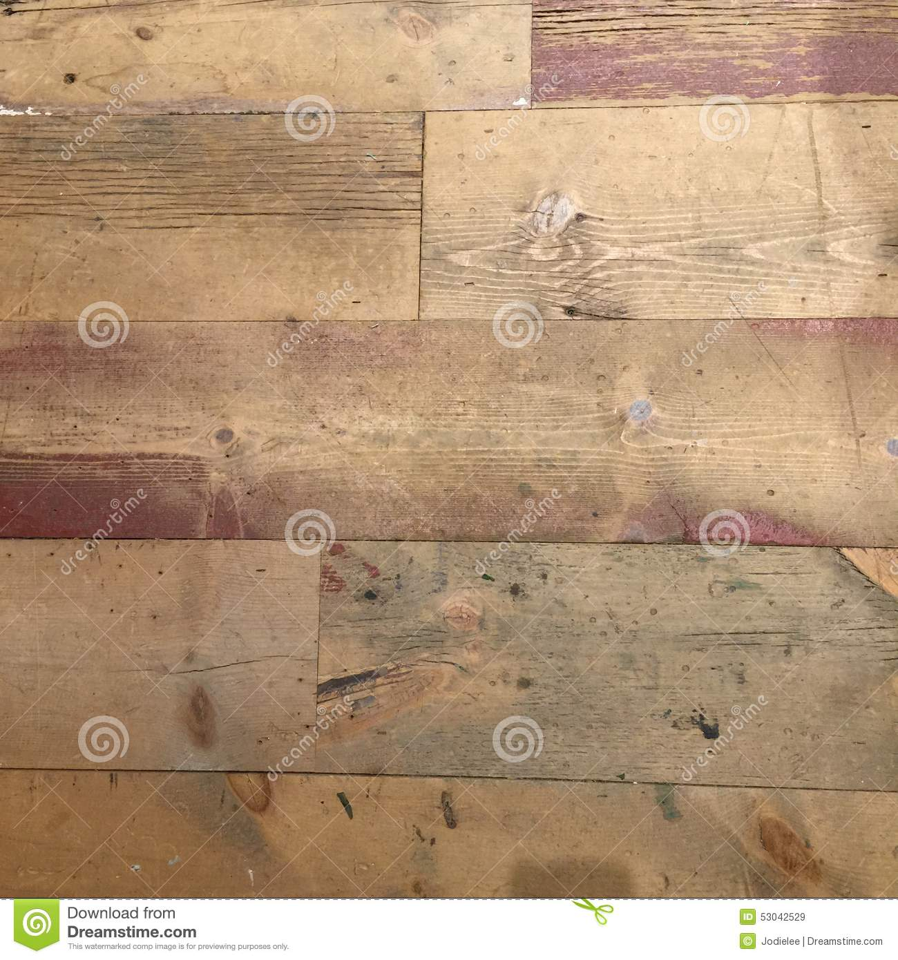 Grungy Distressed Wooden Flooring Texture With White Paint Stock Image Image Of Antique Flooring 53042529