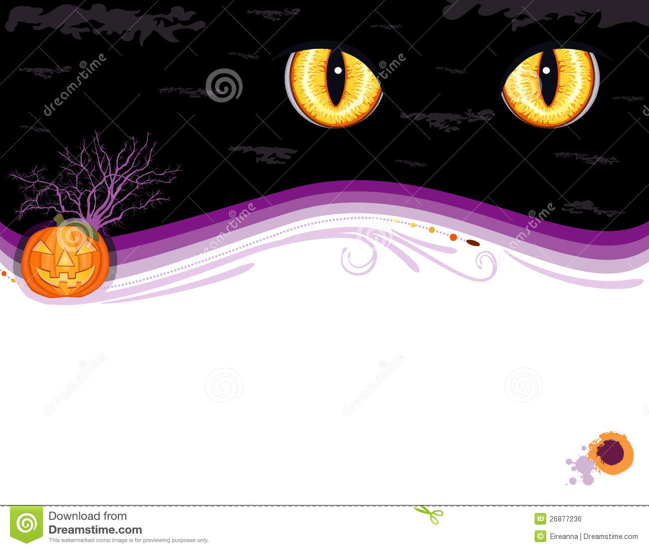 Grungy Halloween Party Invitation Card Royalty Free Image – Halloween Party Invitation Card