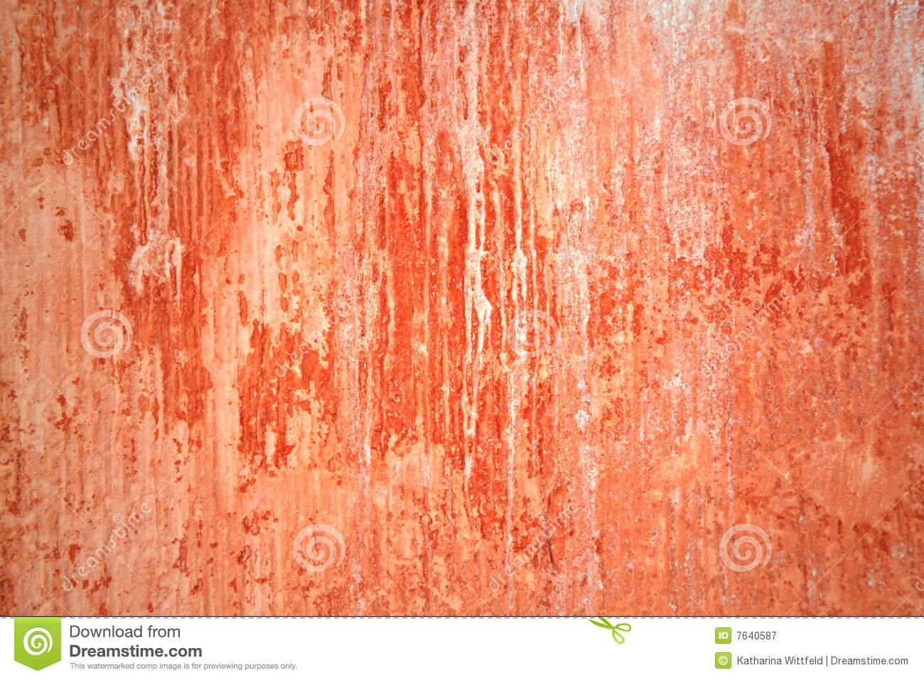 Grungy red wall with lots of streaks royalty free stock for Lots of pictures on wall