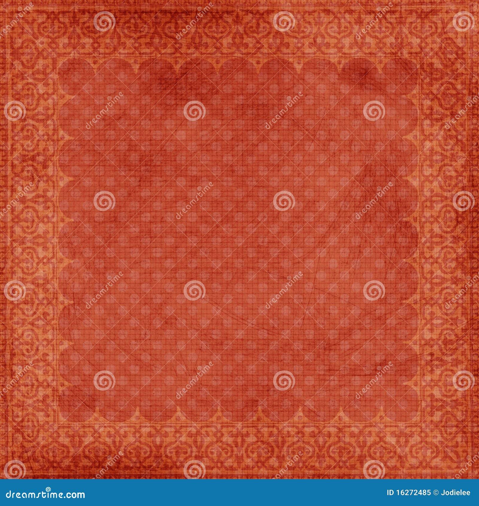 Grungy Rode Achtergrond van het Frame van Kerstmis