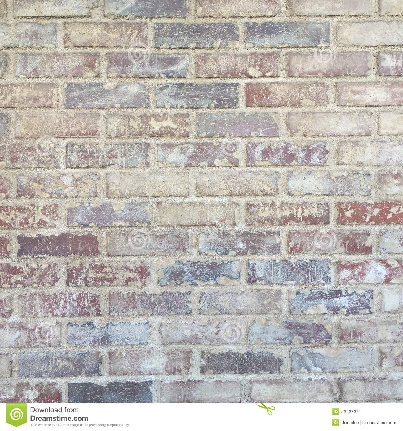 Grungy Rustic Brick Wall Background Texture