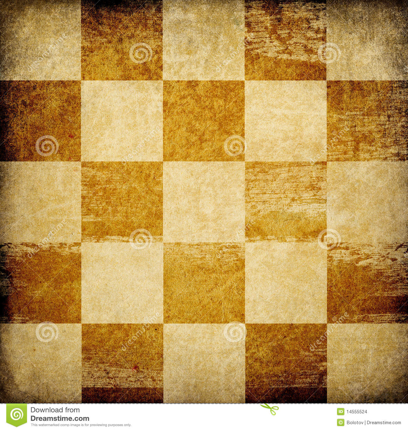 Grungy Schachbrett Befleckter Hintergrund. Stockbilder - Bild ...
