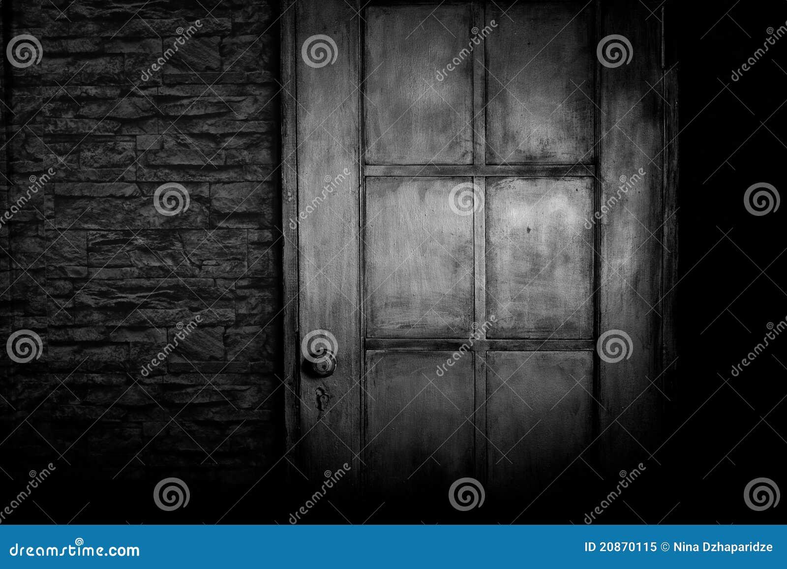 Grungy Tür