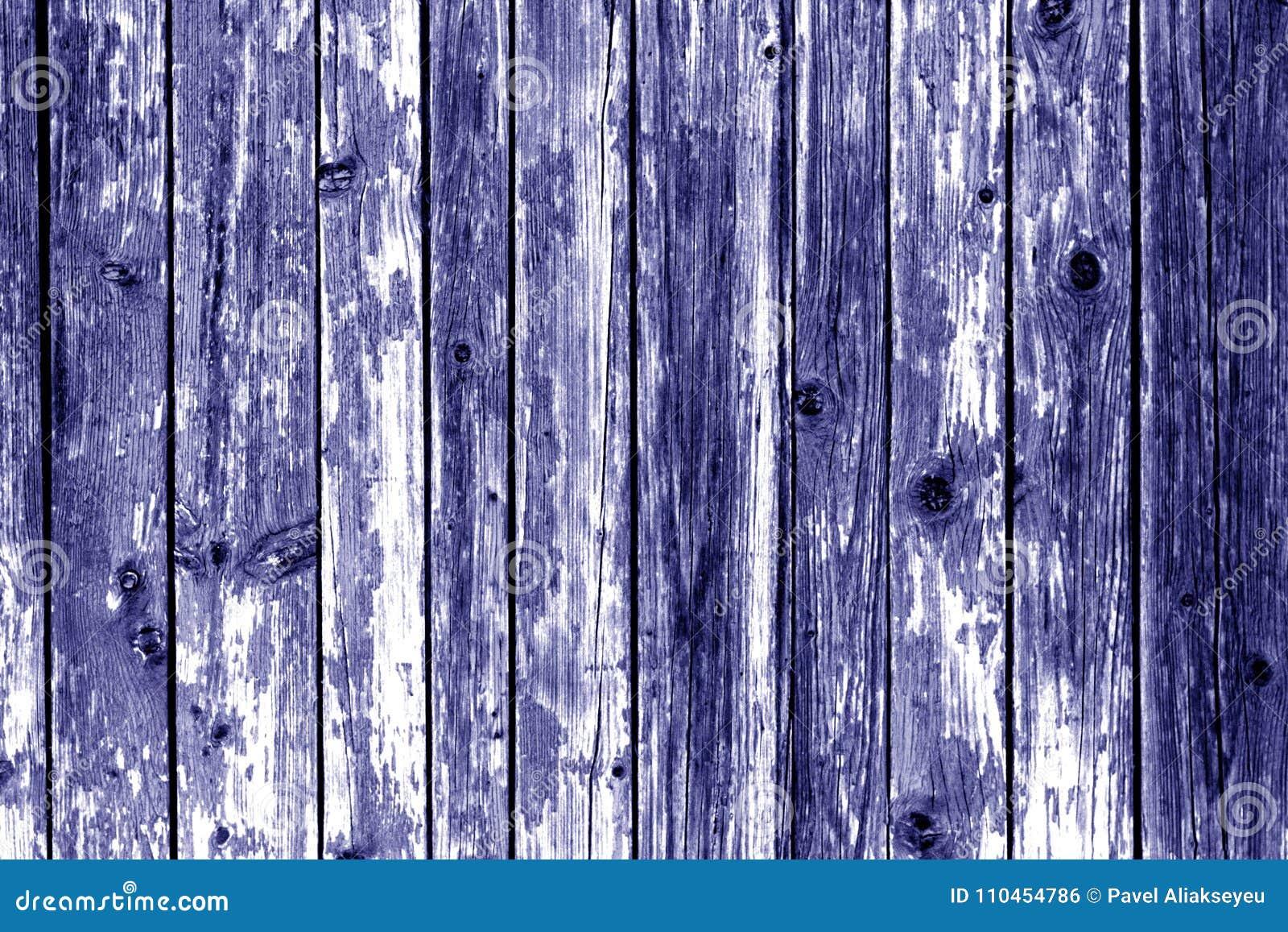 Grungy träväggbakgrund i blåttfärg