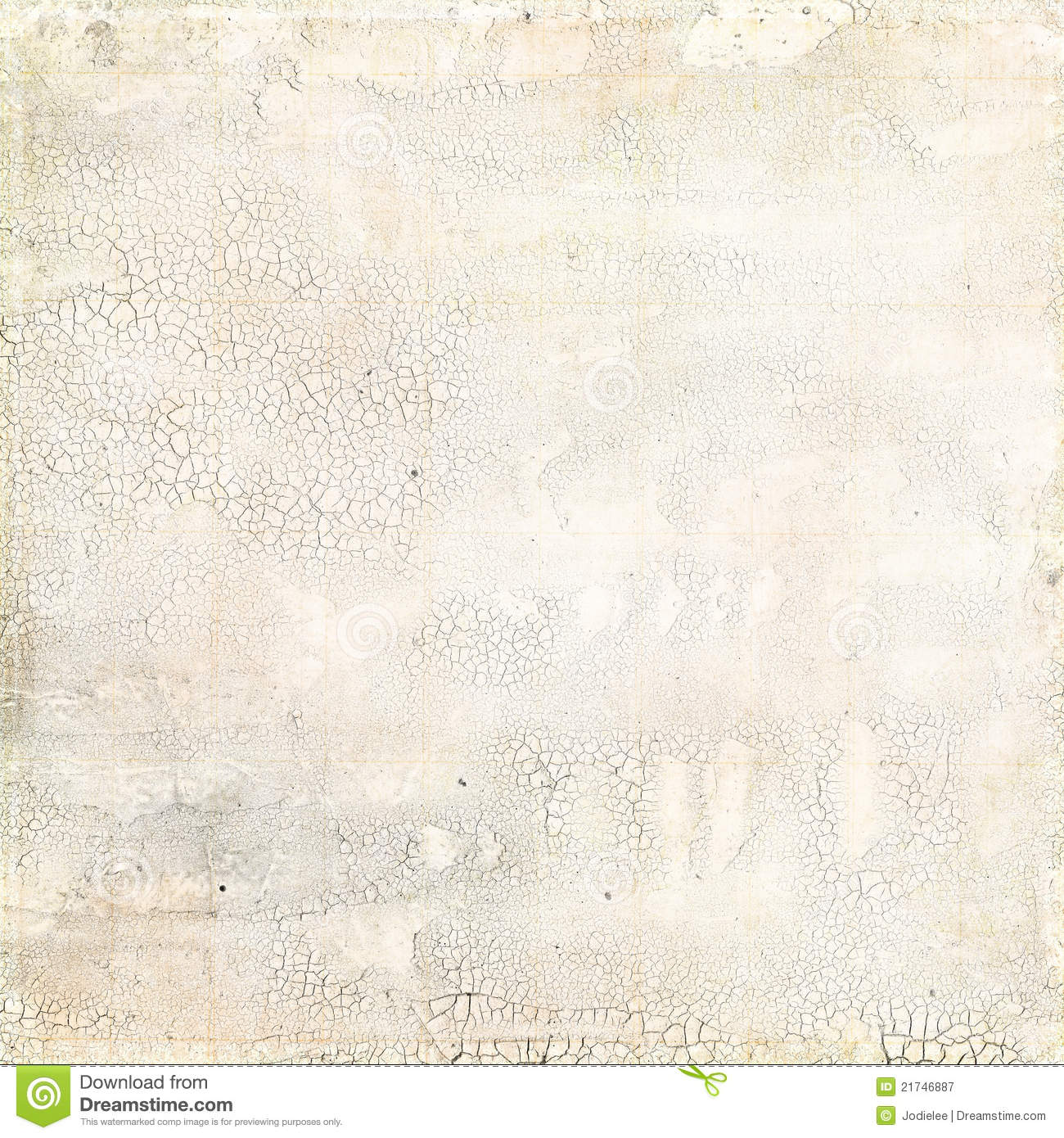 Grungy White Distressed Crackled Texture Royalty Free